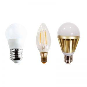 หลอดไฟ LED แบบกลม